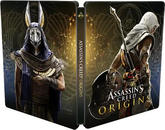 Assassin's Creed Origins Steelbook + Game